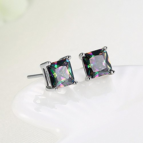 BLOOMCHARM Exquisite&Fancy Design Stud Fashion Dangle Drop Long Earrings Jewelry, Gifts for Women Girls by BLOOMCHARM (Image #2)