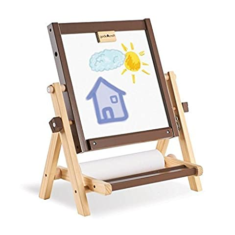 Guidecraft 4-in-1 Flipping Tabletop Easel Set by Guidecraft - 1 Flipping Tabletop Easel