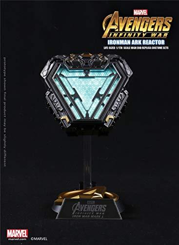 Dimension Studio Marvel Licensed Avengers Infinity War Iron Man Mark L 50 Wearable Arc Reactor Movie Prop Replica