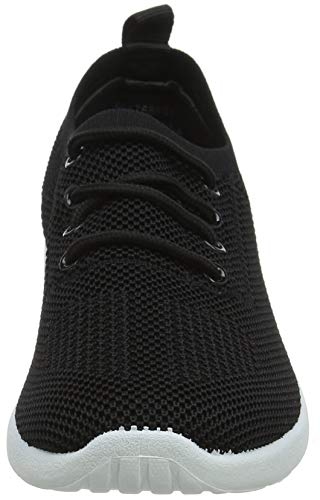 Donna Sneaker New 1 black Look Black Moven zSSBwU