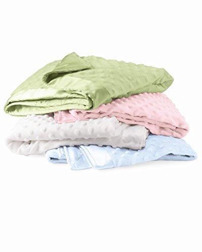 Monogram Baby Blanket - Colorado Clothing - Cuddle Fleece Blanket Free Monogram or Name (Cotton Candy)