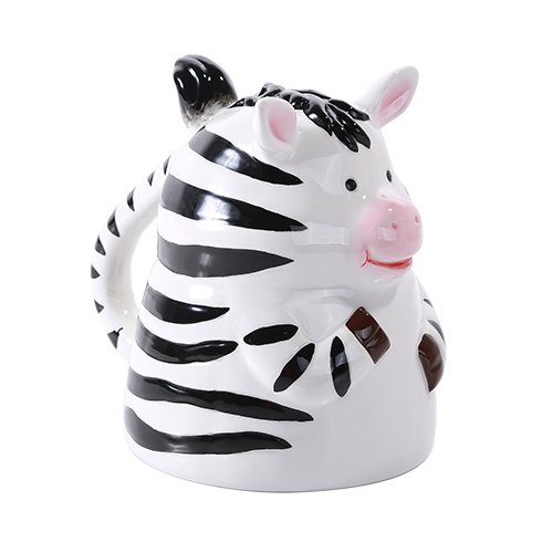 Zebra Upside Down Coffee Mug
