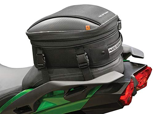 Nelson Rigg CL-1060-R Black Commuter Lite Motorcycle Tail/Seat Bag