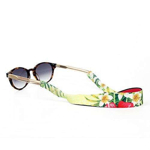 Outdoor Sunglasses Strap - Floating Eyewear Retainer PLUS FREE TEMPORARY TATTOO