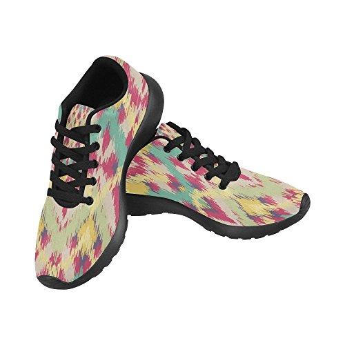 de Lona Zapatillas Zenzzle de Mujer Negro Negro Running Para pTFnxBO