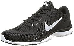 Nike Womens Flex Trainer 6 Blackwhite Training Shoe 7.5