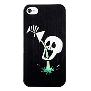 CL - Cráneo Drink plástico de nuevo caso para el iPhone 4/4S