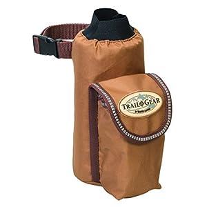 Weaver Leather Trail Gear Water Bottle Holder, Brown