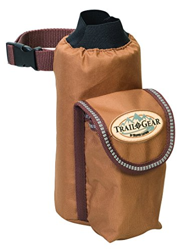 Weaver Leather Trail Gear Water Bottle Holder - Leather Trail Saddle