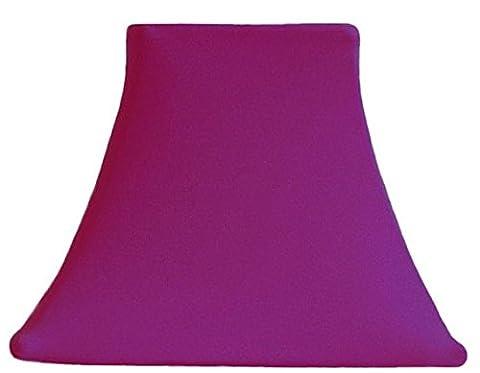 Magenta - Custom SLIP COVERS for lampshades (Magenta Lamp)