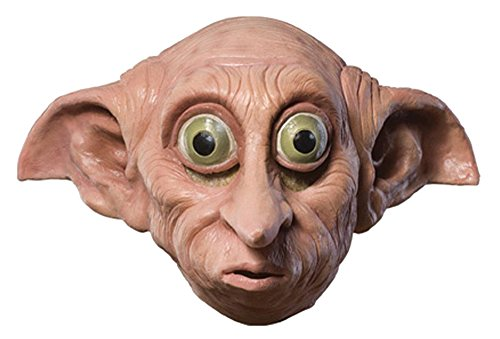Rubie's Boy's Harry Potter Dobby Vinyl Mask Theme Party Child Halloween Accessory -