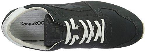 KangaROOS Blaze-nubuck - Zapatillas Unisex adulto Gris - Grau (Dk.Grey 230)