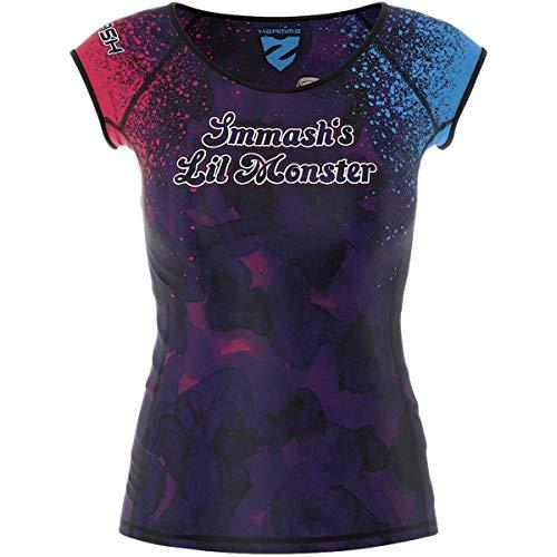 SMMASH Harley Squad 2.0 Professioneel Sport Dames Korte Mouwen, Short Sleeve T-Shirt, Loopshirt voor Vrouwen, Fitness…