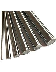 lagers 1 stuk roestvrijstalen staaf 100/200/300 / 500mm 304 staaf lineaire as 5mm 7mm 15mm 8mm 12mm 15mm 18mm 20mm 25mm 30mm ronde staaf Precisie en gebruiksvriendelijke lagers