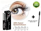 Grande Eco Lash Eyelash Growth Enhancer & Brow Serum | Growth Booster for 100% Natural Longer, Fuller, Luscious Lashes & Thicker, Lush Eyebrows | Cosmetic Eye Lash & Eyebrow Beauty Treatment