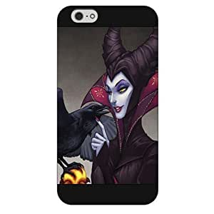 Diy Black Hard Plastic Disney Sleeping Beauty Maleficent For SamSung Note 2 Case Cover Only fit For SamSung Note 2 Case Cover