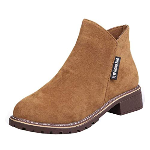 armée à avec couleur velours 6 glissière à pour vert taille fermeture Zhrui bottes brun talons en femmes uk OU0xHpq