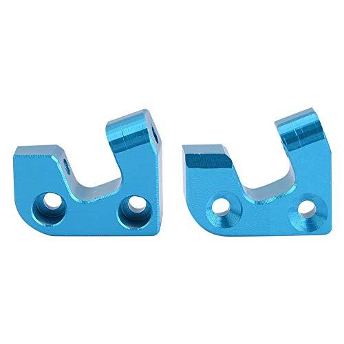 Dilwe RC Rear Suspension Arm Mount, Aluminium Alloy Rear Suspension Arm Mount for Wltoys 12428 / FY03 RC Car Upgrade Accessory
