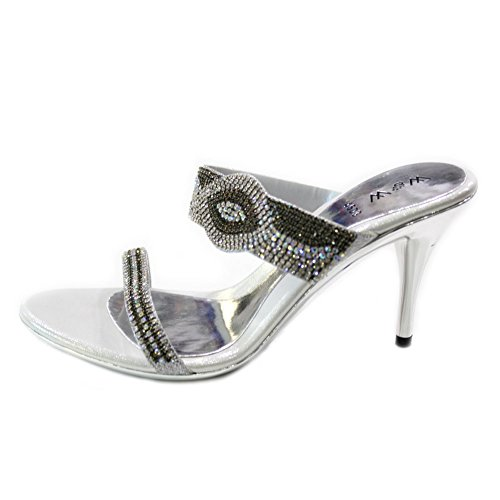pour femme amp; Sandales silver Wear UK Walk 1x0On4qI