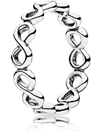 infinity ring pandora. infinite shine ring 190994-54 size (7) infinity pandora
