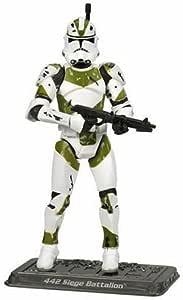 21PCS 442nd Siege Battalion Clone Trooper Building Blocks Mini Figure DIY Toys