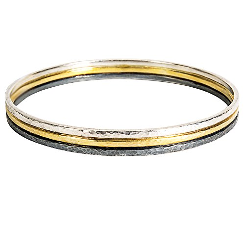 Loved Luxuries BRAND NEW Gurhan Skittle Bangle Bracelet in Sterling Silver Retails for 2125