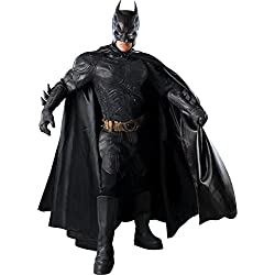 Batman The Dark Knight Rises Grand Heritage Collector's Batman Costume, Black, Large