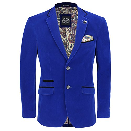 Xposed - Veste de costume - Homme bleu bleu marine poitrine  60
