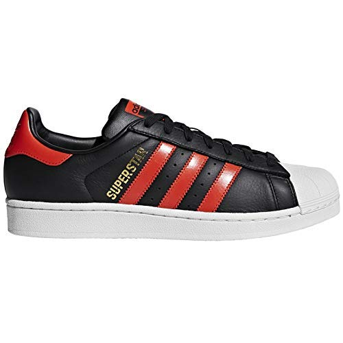 Adidas Men's Superstar CblackBorangFtwwht Running Shoes