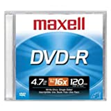 MAXELL  DVD+R4.7 Blank DVD Recordable Disc