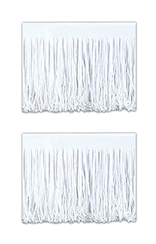 Beistle S55285WAZ2, 2 Piece Tissue Fringe Drapes, 15