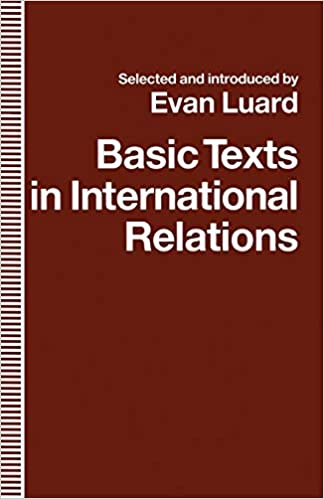 Amazon com: Basic Texts in International Relations: The