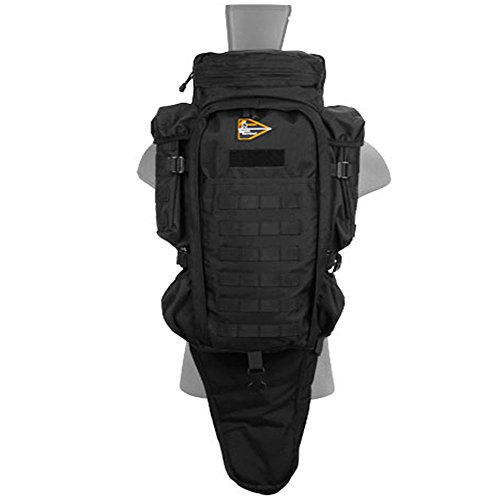 Military Tactical Assault Rifle Backpack (Black)