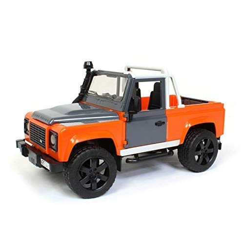Bruder Toys Land Rover Defender Pick Up [Colors May Vary] (Ken Block Remote Control Car For Sale)