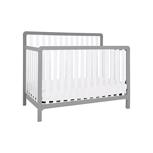 Baby Mod Summit 4-in-1 Convertible Crib, Converts into a toddler bed, day bed, and full sized bed