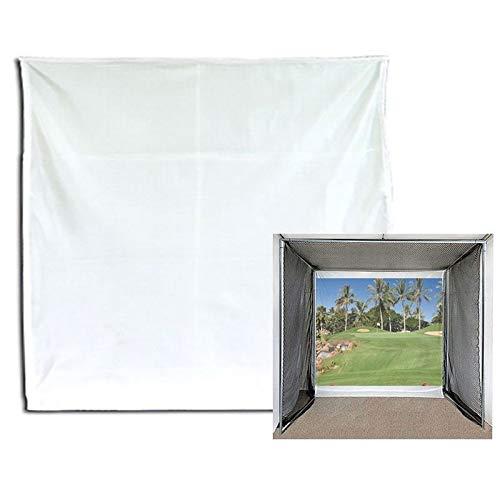 Jones Sports ゴルフインパクトプロジェクションスクリーンバッフル 10 x 10フィート プロジェクションスクリーンのみ   B07KQLM48K