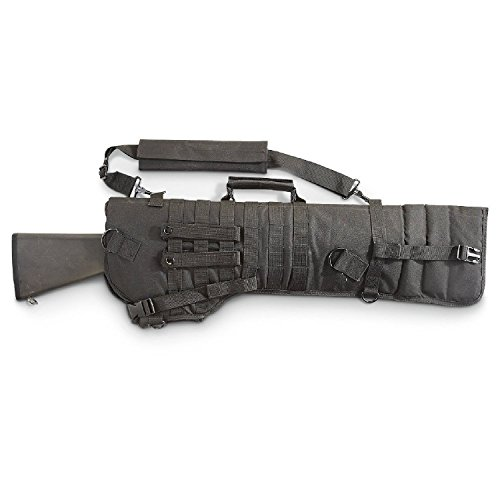 (VISM byNcStar Tactical Rifle Scabbard (CVRSCB2919B), Black)
