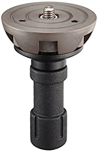 Manfrotto 520BALLSH 75mm Half Ball with Short Handle for 529B Hi Hat (Black)