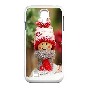 Samsung Galaxy S4 9500 Cell Phone Case White_Winter dolls Unzur