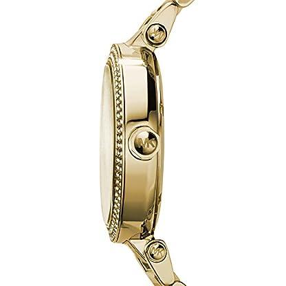 Michael Kors Damen Analog Quarz Uhr mit Edelstahl Armband MK5784 2