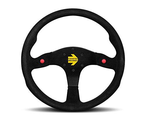 Momo Racing Steering Wheels - MOMO R1980_35S Mod 80 350 mm Suede Steering Wheel