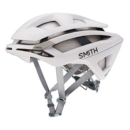Smith Overtake Helmet Matte White Frost, L by Smith Optics