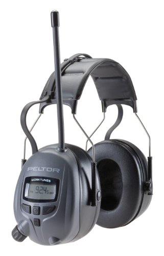 3M Peltor WorkTunes 26 Digital Radio Hearing Protector, WTD2