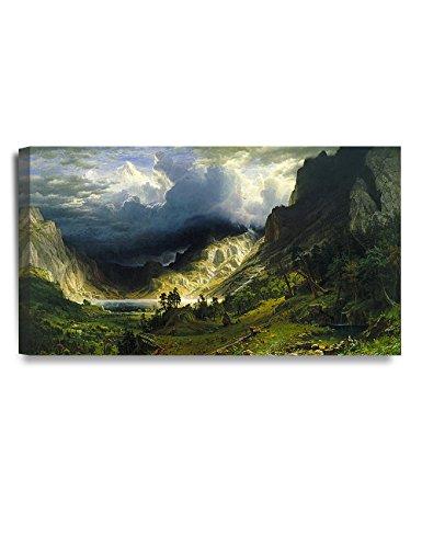 DECORARTS Mountains Bierstadt Classic Reproductions
