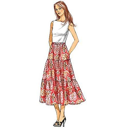 Size Y BUTTERICK PATTERNS B5757 Misse Skirt XSM-SML-MED
