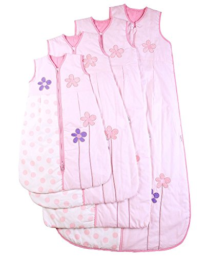 Amazon.com: Baby Sleeping Bag, Pretty Flowers, Kiddy Kaboosh, Various Sizes & Weights: Baby