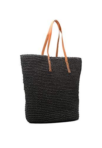 Lona Rag Bolsa Negro De London Mujer Playa F4IWqIzd