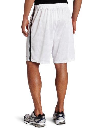 Trapis corto para hombres (blanco / grava / gris claro, grande)