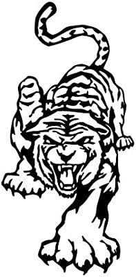 Leon Online Box Tiger Art – Adhesivo de Vinilo para Coche ...