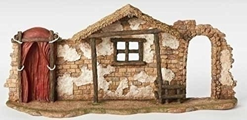 Fontanini 5'' Religious Christmas Nativity Stable Facade #50465 by Roman